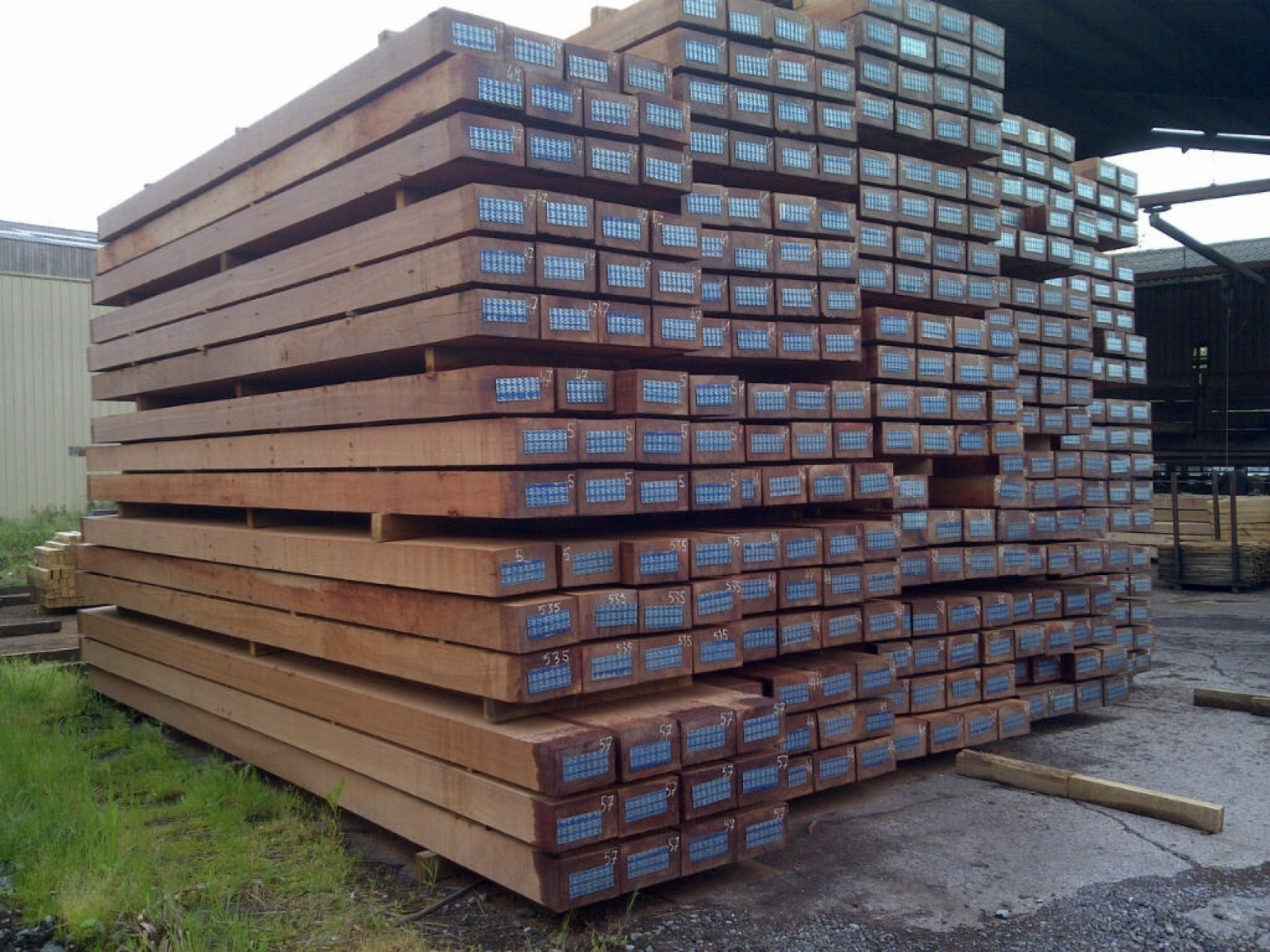 Oak Beams Planks Wood Beams Air Dried Timber Beams