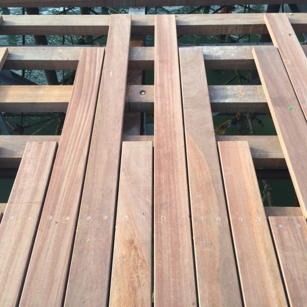 Timber decking is the natural platform connecting our interior and exterior lifestyles as we head to the garden