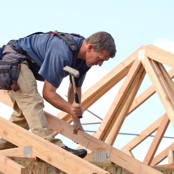 Why do we make roofs from timber?