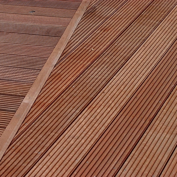 What options are available when it comes to decking?