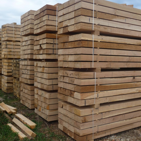 oak sleepers in stock in France
