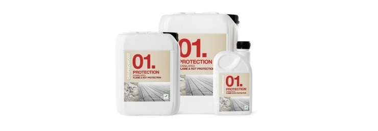 OrganoWood 01 protection treatment