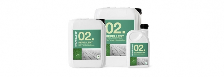 OrganoWood 02 repellent treatment