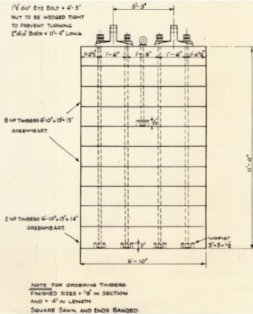 original drawing used for replacement