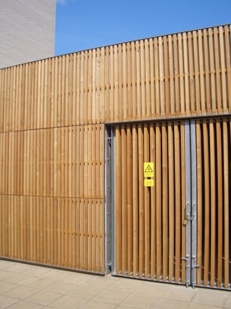 Siberian Larch louvres