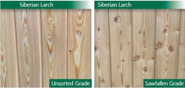 Larch cladding examples